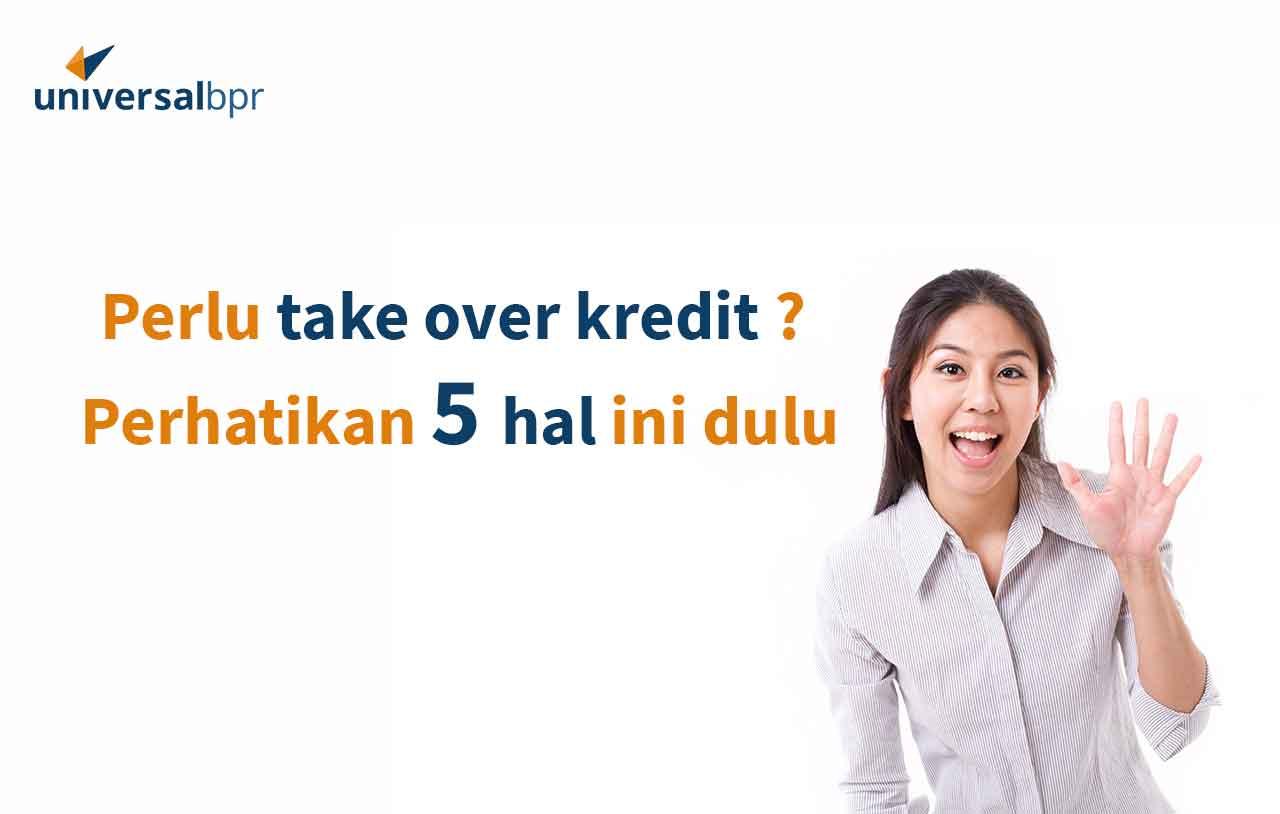 Tips Take Over Kredit