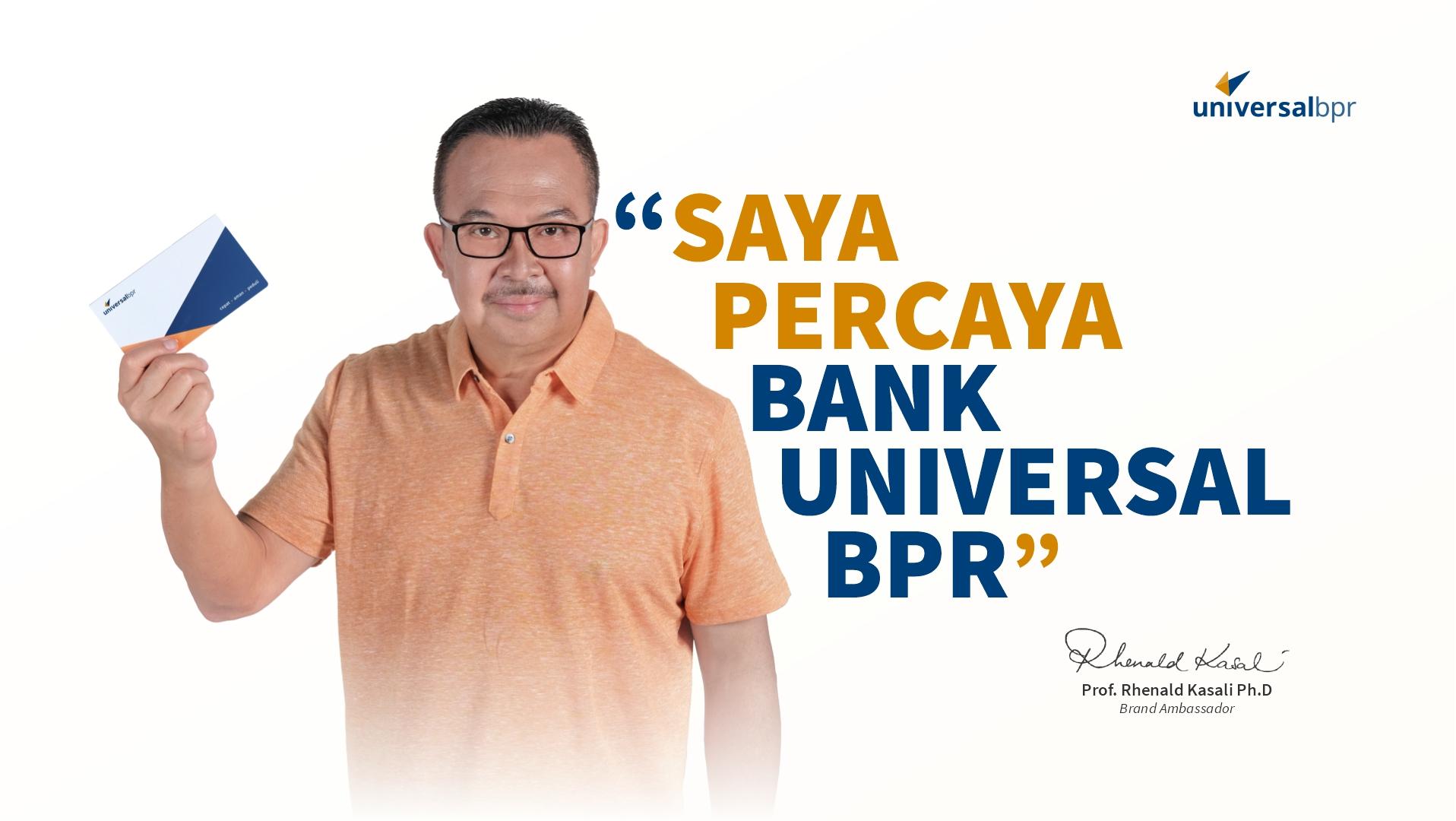 Brand Ambassador Bank Universal BPR